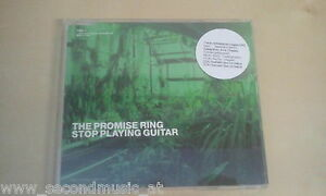 MAXI CD--THE PROMISE RING --STOP PLAYING GUITAR--3  TRACKS