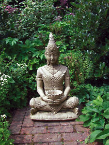 buddha garden statue. Image Is Loading TRANQUIL-SITTING-BUDDHA-Garden-Statue -Ornament-of-excellent- Buddha Garden Statue A