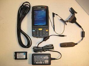 SYMBOL-MOTOROLA-MC7090-PU0DJRFA7WR-NUMERIC-KEYPAD-1D-BARCODE-SCANNER-WI-FI-64MB
