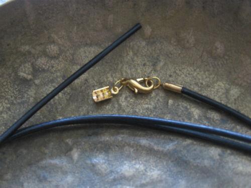 Lederband 1 m Lederkette schwarz offener Verschluss Herren Damen braun 100 cm