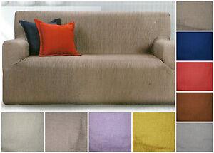 Copridivano 3 posti x divano max cm 190 strech 9 colori for Divano 9 posti