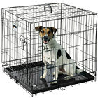 "Pet Trex 2200 24"" Folding Pet Crate Kennel Wire Cage for Dogs, Cats and Rodents"