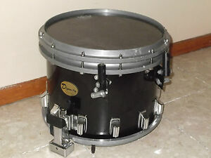 dynasty 14 high tension marching band snare drum corps black ebay. Black Bedroom Furniture Sets. Home Design Ideas