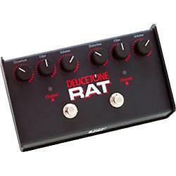 pro co deucetone rat distortion guitar effect pedal for sale online ebay. Black Bedroom Furniture Sets. Home Design Ideas