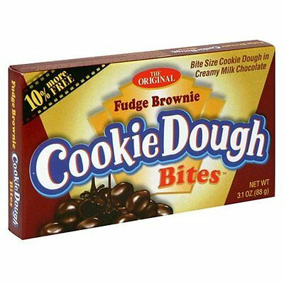 Fudge Brownie Cookie Dough Bites 88g Box American Candy Sweet Retro Party Bag