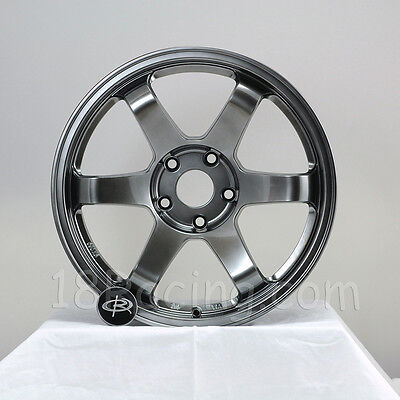 ROTA WHEEL GRID 17X9  5x114.3 +25 HYPER BLACK NISSAN 350Z 240SX MR2 SKYLINE