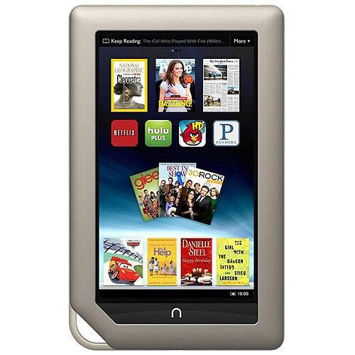 Barnes & Noble NOOK Tablet™ - 8 GB, Wi-Fi, 7in - Silver