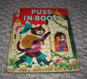 1955 puss in boots illustrated bernice lou myers rand mcnally