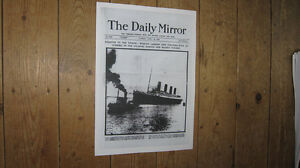 The-Titanic-Daily-Mirror-Front-Page-POSTER