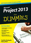 MS Project 2013 Fur Dummies by Cynthia Stackpole Snyder, Nancy C. Muir (Paperback, 2013)