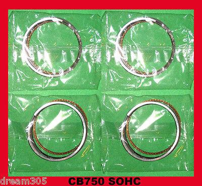 Honda CB750 Piston Rings x 4 sets!!  SOHC - STD. 1971 1972 1973 1974 1975 1976
