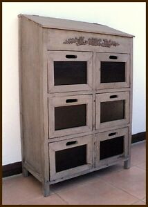 shabby chic kommode schubfach schrank vintage. Black Bedroom Furniture Sets. Home Design Ideas
