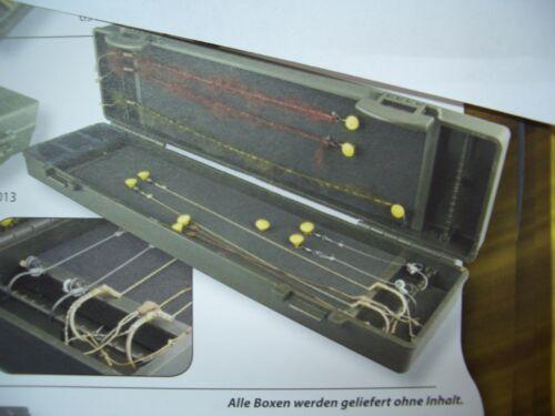 34,4cm *9,5cm *4,7 cm angeln fischen ABS Plastikbox SPRO Strategy Rig Box