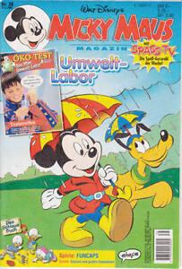 Micky-Maus-1995-38-Zustand-1-mit-Beilage