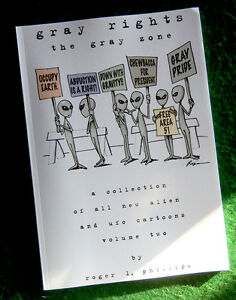GRAY-RIGHTS-Alien-amp-UFO-Cartoon-Book-NEW