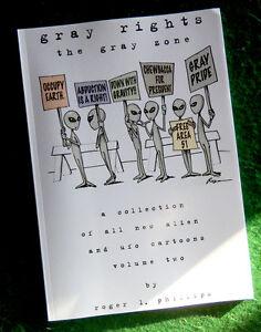 GRAY-RIGHTS-Alien-amp-UFO-Cartoon-Book-NEW