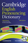 Cambridge English Pronouncing Dictionary with CD-ROM by Daniel Jones (Mixed media product, 2011)