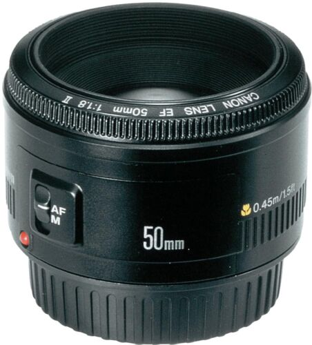Canon EF 50 mm F/1.8 II Lens Brand NEW. Excellent choice!