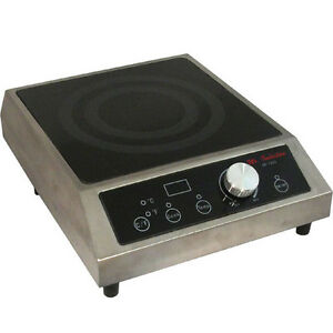 1800w Commercial Portable Countertop Induction Cooktop