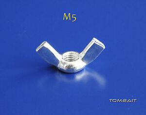 2-dadi-a-farfalla-M5-DIN-315-DADO-galvanizzato-ZINCATO-DADO-AD-ALETTE-B31V