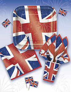 Best of british union jack partyware decorations balloon for Decoration murale union jack
