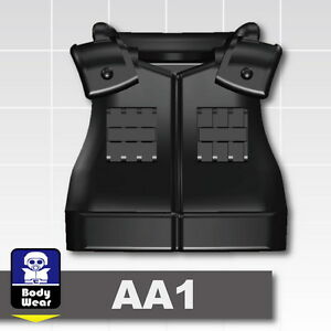 Custom-Swat-Assault-Tactical-Vest-AA1-black-compatible-with-LEGO-minifigures