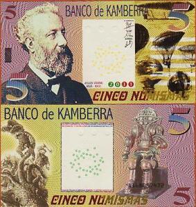 Kamberra-Kingdom-5-Numismas-2011-UNC-Jules-Verne