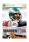 Madden NFL 06 (Microsoft Xbox 360, 2005)