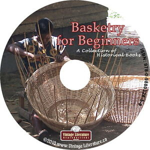 Basket-Making-for-Beginners-15-Vintage-How-To-Books-Step-by-Step-on-DVD