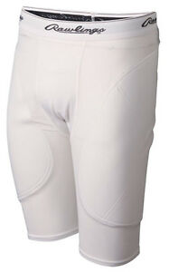 NEW-Rawlings-Mens-Adult-Baseball-Softball-Sliding-Shorts-Sliders-L-XL