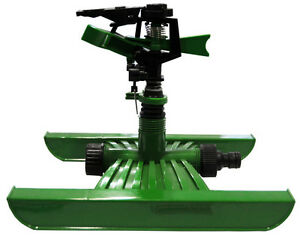 Asperseur arroseur canon rotatif sur traineau arrosage jardin gazon potager eau ebay - Arrosage automatique jardin potager ...