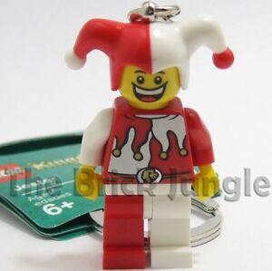 LEGO-Minifig-Jester-keyring-castle-wars-clown-bulk-star