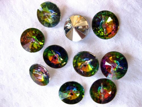 10 Knöpfe  in verschiedenen Farben,Farbe wählbar,18mm,Kunststoff  ( K6)