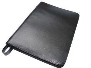 Black-Large-Leather-Pen-Case-for-48-Pen-AR11