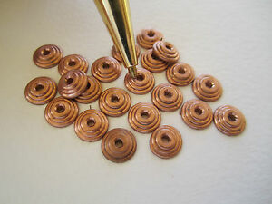 BULLS-EYE-COLLARS-FOR-WADE-BUTCHER-OR-ANY-LARGE-RAZOR-TELLURIUM-COPPER