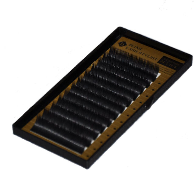 Eyelash Extension Blink BL Mink C Curl .07 from 8mm to 15mm Volume Lashes 3D