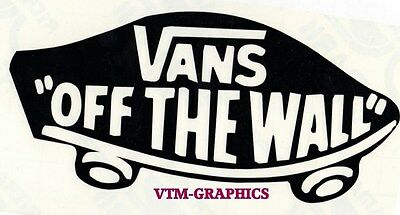 VANS OFF THE WALL CAR/VAN STICKER DECAL