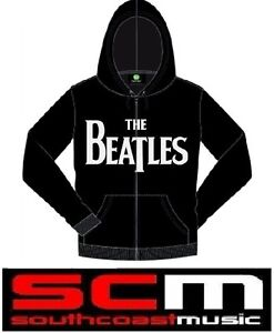 THE-BEATLES-DROP-T-LOGO-JACKET-HOODY-BLACK-LARGE-BRAND-NEW-OFFICAL-MERCHANDISE