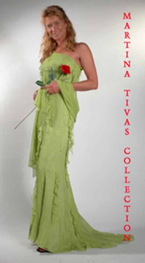 Abendkleid Brautkleid Ballkleid Gala Troja Größenwahl G05