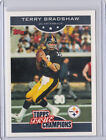2006 Topps True Champions Terry Bradshaw Pittsburgh Steelers #14 Football Card