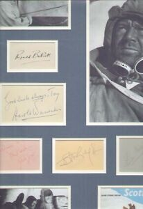 SCOTT-OF-THE-ANTARCTIC-1948-Film-John-Mills-MULTI-SIGNED-AUTOGRAPHS