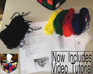 Rubik-039-s-Rubiks-Cube-Tissue-Box-Cover-Kit-Only-Big-Bang-Theory-Pattern-Rubix