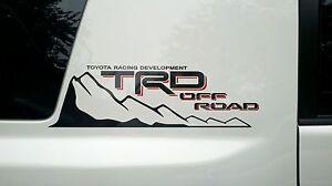 2-Toyota-custom-FJ-Cruiser-034-TRD-Off-Road-034-decal-sets-32-99-free-ship