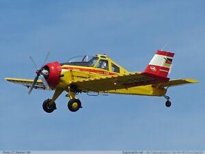 PZL-106-A-Kruk-PZL-Okecie-PZL-106-PZL-106-Airplane-Desktop-Wood-Model-Big