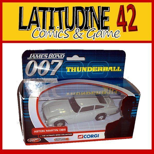 CORGI 007 JAMES BOND BOND BOND AUTO REPLIK THUNDERBALL ASTON MARTIN DB5 DIE CAST 0e1856
