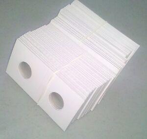 1000-2x2-Collector-Safe-Penny-Cent-Coin-Flips-Cardboard-Mylar-NEW-Wheat-Bulk