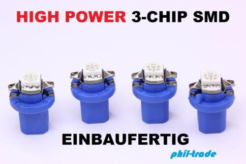 blaue high Power SMD LED Tacho Beleuchtung VW Golf 3  Vento blau  41