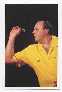 Scarce-Trade-Card-of-Cliff-Lazarenko-Darts-1991-Series-2