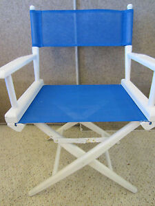MARITIME, FOLDING, WHITE, PORTABLE, BOAT DECK CHAIR
