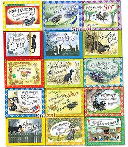 Hairy-Maclary-Friend-Collection-Lynley-Dodd-15-Books-Set-Pack-Slinky-Malinki